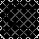 Drag Drop Web Alignment Web Design Icon