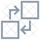 Criss Cross Arrows Icon