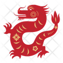 Dragon Zodicc Sign Chinese Zodics Icon