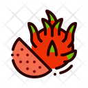Fruit Food Dragon Icon