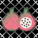 Dragon Fruit Fruit Healthy Icon