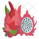 Dragon Fruit Fruit Food Icon