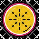 Dragon Fruit Slice Dragon Fruit Slice Icon