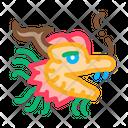 Mask Chinese Dragon Icon