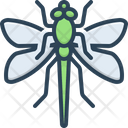 Dragonfly Environment Flying Adder Icon