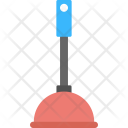 Drain Plunger Cleaning Icon