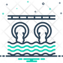 Drainage Sewage Canalization Icon