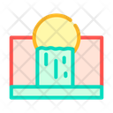 Waste Emissions Color Icon