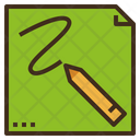 Draw Note Doodle Icon