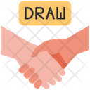 Draw Game Shakehands Icon