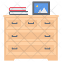 Chest Drawers Book Icon
