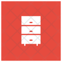 Drawer Boxes Cabinet Icon