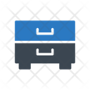 Drawer Cabinet Archive Icon