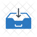 Inbox Drawer Cabinet Icon