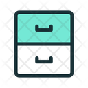 Drawer Drawers Archive Icon