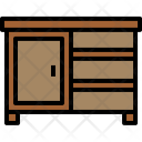 Drawer Furniture House Icon