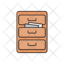 Archive Cabinet Drawer Icon
