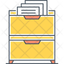 Drawer Archive Cabinet Icon