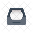Drawer Cabinet Files Icon