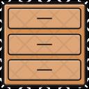 Drawer Cabinet Interior Icon
