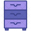 Cabinet Drawer Cupboard Icon