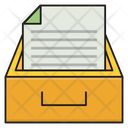 Drawer Archive Document Icon