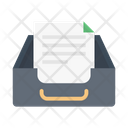 Drawer Cabinet Document Icon