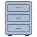 Drawer Filing Cabinet Icon