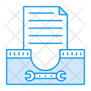 Drawer Archive Files Icon