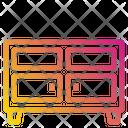 Drawer Cabinets Storage Icon