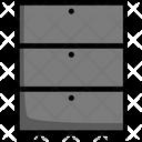 Drawer Cabinet Storage Icon