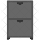 Chest Drawer Furniture Icon