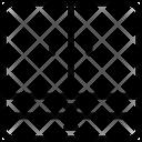 Cabinet Furniture Triple Icon