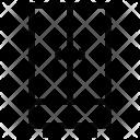 Safe Almirah Wood Icon