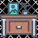 Drawer Furniture Desk Icon
