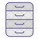 Drawer Archive Office Icon
