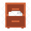 Drawer Document Files Icon