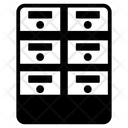 Drawer Boxes Icon