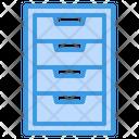 Cabinet Document Storage Icon