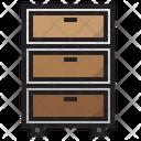 Drawer Table Drawer Furniture Icon