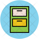 Drawers Chest Storage Icon