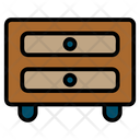 Drawers Cabinet Cupboard Icon
