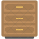 Chest Drawers Cabinet Icon