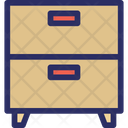 Drawers Cupboard Cupboard Drawers Icon