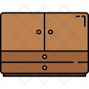 Drawers Cabinet Furniture Icon