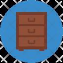 Drawers Chest Storage Icon