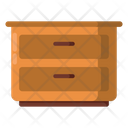 Drawers Furniture Cabinet Icon