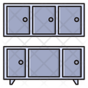 Drawers Cabinets Interior Icon