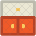 Drawers Cupboard Cabinet Icon