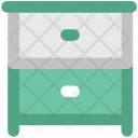 Drawers Cabinets Storage Icon